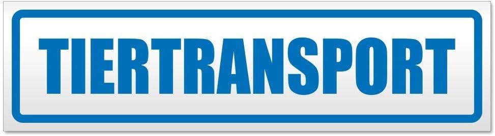 Kiwistar Tiertransport Magnetschild Schild magnetisch