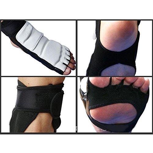 Alftek Half Finger Taekwondo Hand Handschuhe Fu/ßschutz Protektoren Kampf Karate Fu/ß H/ände Protector
