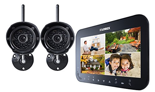 Lorex LW1742 Live SD Wireless Recording Video Surveillance System with 2 Cameras (Black) (Lorex Live Wireless Video)
