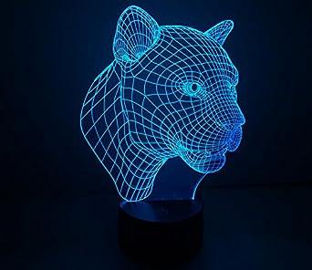 youqizhi d increble resplandor lmpara de de luz led arte escultura