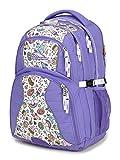 High Sierra Access Laptop Backpack, Berry Blast/Mercury