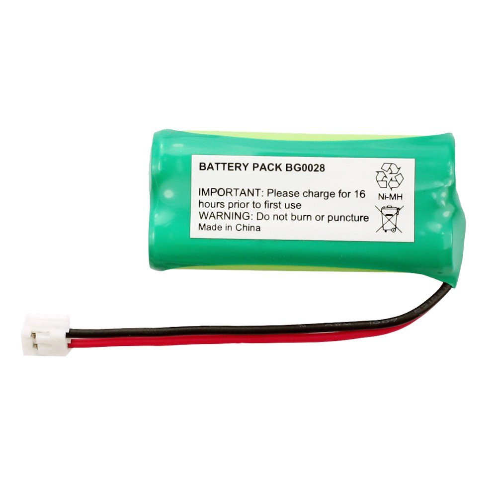 Fenzer Rechargeable Cordless Phone Battery for AT&T/Lucent BT-18433 BT-184342 Cordless Telephone Battery Replacement Pack