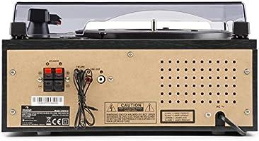 Auna Blackwood 2019 Edition Tocadiscos estéreo: Amazon.es: Electrónica