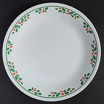 Amazon.com | Corelle Winter Holly SET/2 Salad Plates 8 1/2 \