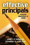 Effective Principals, James O'Hanlon and Donald O. Clifton, 1578861322