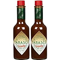 Tabasco Chipotle Smoked Red Jalapeno Pepper Sauce, 5 oz (Set of 2) by TABASCO brand