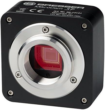 Bresser Mikroskopkamera SP mit 1,3MP USB 2.0, schwarz