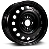 Steel Rim 15X6, 4X108, 63.5, +48, black finish (MULTI APPLICATION FITMENT) X40831
