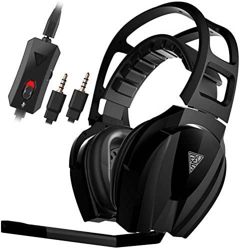 GAMDIAS EROS Elite Gaming Headset with 50mm Drivers, Smart Remote Control, Uni-directional Mic & Cooling Structure (GHS3600)