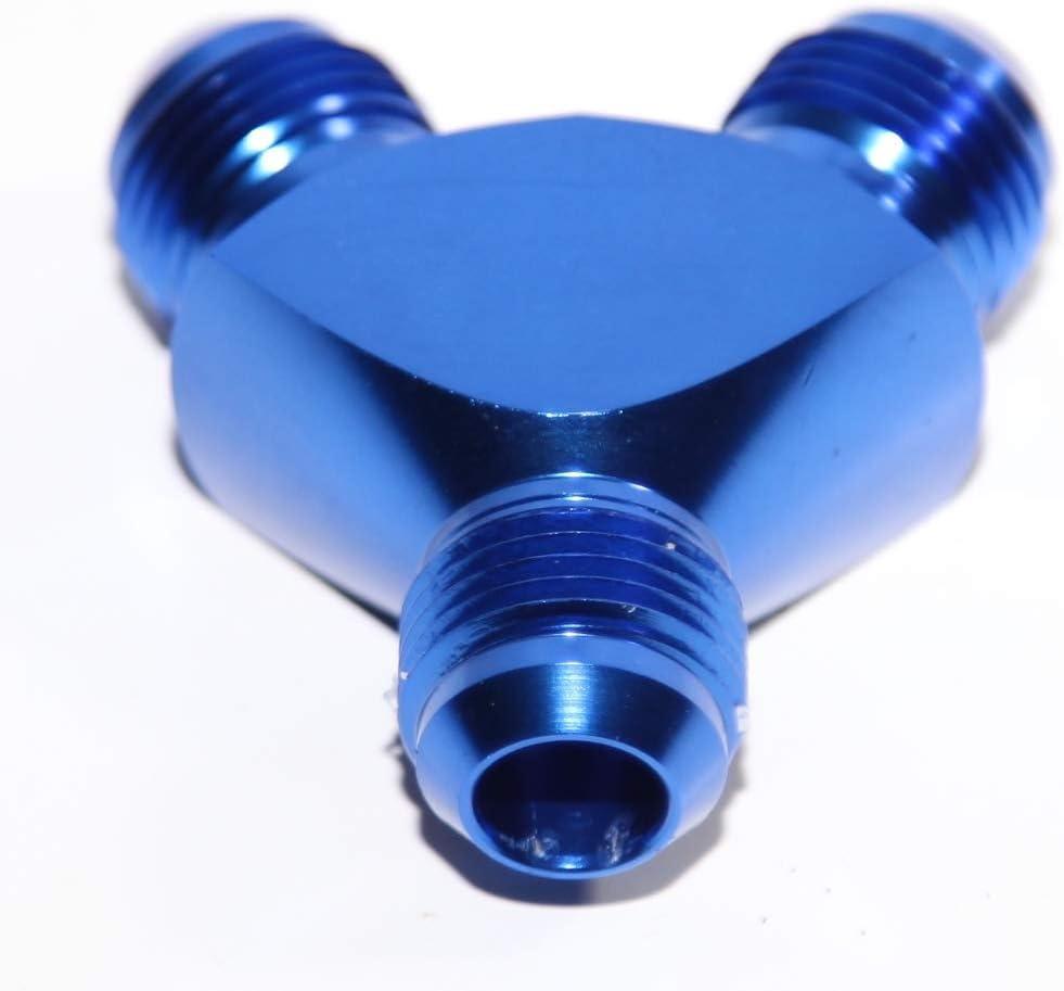 8AN AN8 Flare Cap Caps Block off Fitting Red//Blue Aluminum 8AN