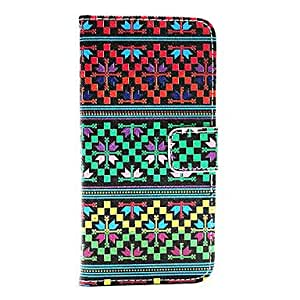 ZL Tribal TattooPU Leather Full Body Case with Card Holder for iPhone 6