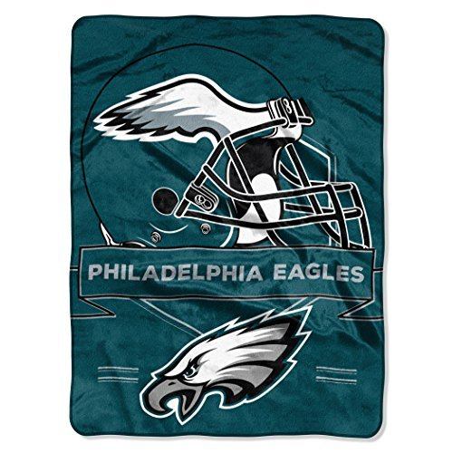 Northwest NFL Philadelphia Eagles Prestige Plush Raschel 60