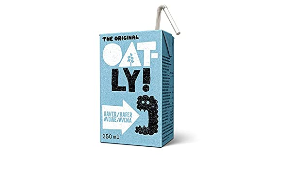 Oatly - Bebida de Avena - Pack de 18 (18 x 25 centilitros): Amazon.es: Alimentación y bebidas
