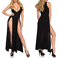 Clearance ! Litetao New ! Hot Sale ! Sexy Lingerie, Women Girl Sleepwear Plus Size Underwear Nightdress Long Skirt Pajamas