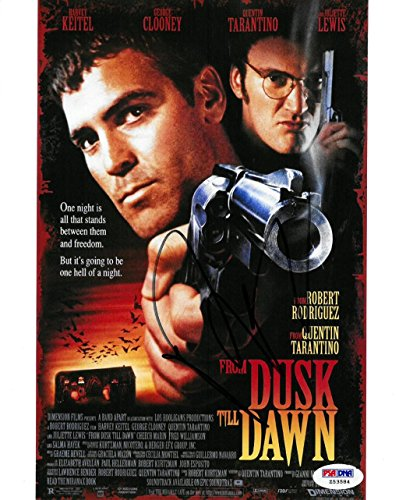 Robert Rodriguez Signed From Dusk Till Dawn Autographed 8x10 Photo PSA/DNA #Z53584 (Autographs Rodriguez)