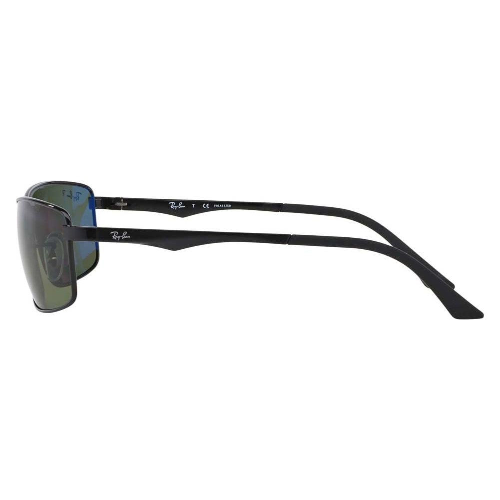 c777faeaca6 Amazon.com  Ray-Ban Sunglasses - RB3498   Frame  Black Lens  Green  Clothing