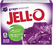 Jell-O Gelatin Mix, Grape, 3 oz