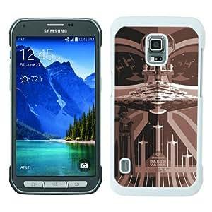 Best Sale Samsung Galaxy S5 Active Case Star Wars 6 White Fashionable Samsung Galaxy S5 Active Custom Case