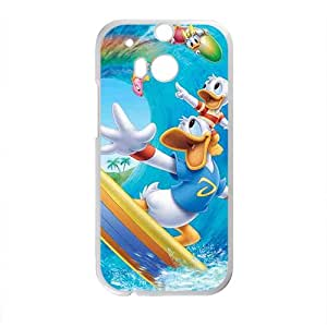 YYYT Donald Duck Case Cover For HTC M8 Case