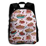 All Products : Toddler Backpack Cherry Pies Pink Kids Backpack School Bag