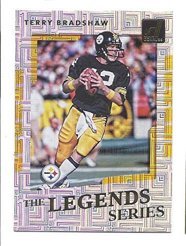 2017 Donruss Sports Legends - TERRY BRADSHAW 2017 Donruss The Legends Series #18 Card Pittsburgh Steelers Football