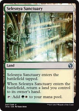 Selesnya Sanctuary - Foil - Iconic -