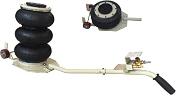 3 Ton Triple Bag Air Jack with Extended Handle High Quality New