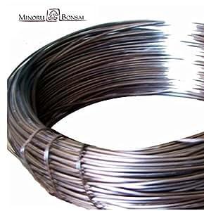 Bonsai alambre aluminio, 1mm, 500g
