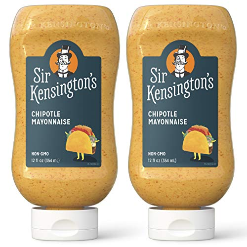 Sir Kensingtons Mayonnaise Chipotle 12 Fl Oz (Pack of 2)