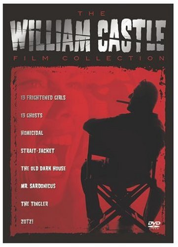 The William Castle Film Collection (13 Frightened Girls / 13 Ghosts / Homicidal / Strait-Jacket / The Old Dark House / Mr. Sardonicus / The Tingler / Zotz!) by Sony