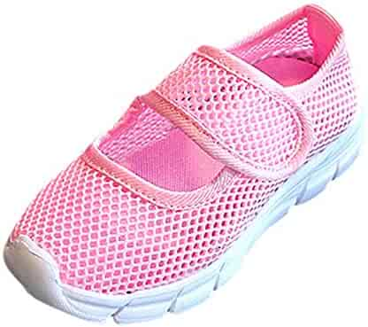 faf0a9baaa8f Lurryly Mesh Sneakers Beach Shoes Boys Girls Closed Toe Sports Casual  Sandals 5-12 T