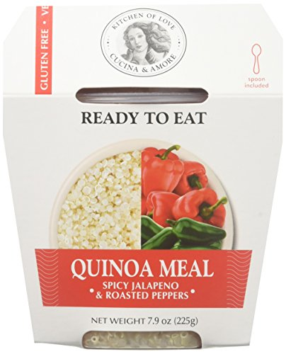 Cucina & Amore Quinoa Meal Spicy Jalapeno & Roasted Peppers - 7.9 OZ (Pack of 6)