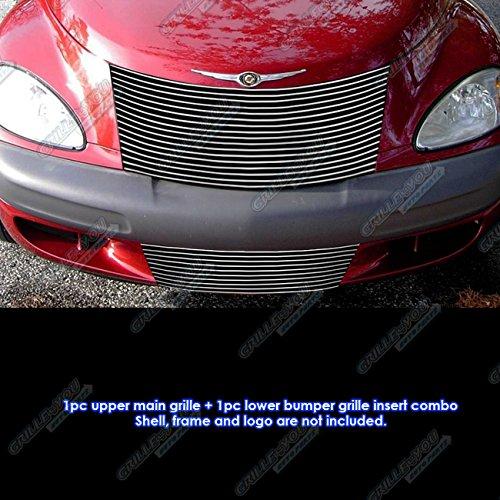 00-05 Chrysler PT Cruiser Billet Grille Grill Combo Insert # R87729A (Grill Billet Pt Cruiser)