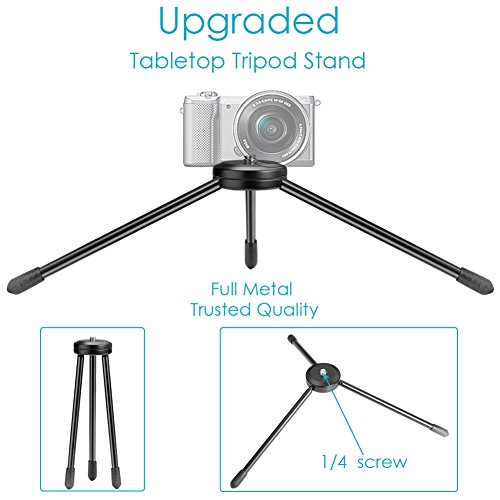 Neewer Selfie Stick with Tripod Stand+Mobile Phone Clamp+120cm Extendable Monopod w/ Bluetooth Remote shutter