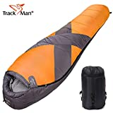 Camping Sleeping Bag Mummy Outdoor Lightweight Portable Waterproof Perfect for 0 Degree Camping, Traveling, Hiking, 3-4 Season