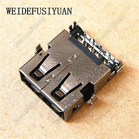 Cables USB Jack Connector Plug for ACER S3-391 USB 3.0 Port Female Socket Cable Length: 5PCS