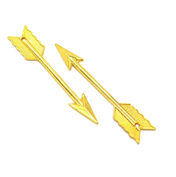 62x11mm Antique Silver//Gold Arrow  Charms Pendant DIY Jewelry Making