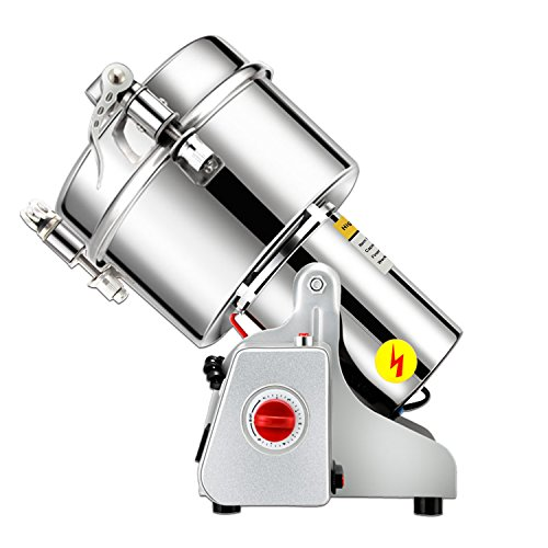Great Wall Instruments 1500g stainless steel high-speed grinder mill family medicial Mill Herb Grinder,pulverizer (110V (Voltage))