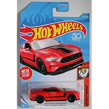 Hot Wheels 2018 50th Anniversary 2018 Ford Mustang GT 337/365, Red