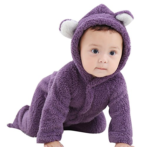 Velvet Winter Coat - ESHOO Newborn Baby Animal Romper Jumpsuit Snowsuit Outfit Coat,Climbing Clothing