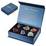 Faivykyd Virgo Crystal Gift-Zodiac Sign Stones to