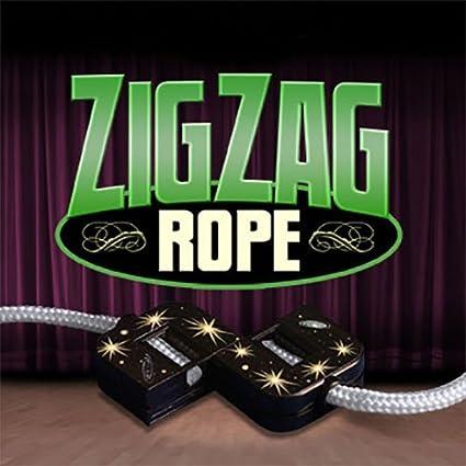 1 Piece Close up Magic Rope to Silk for Magician Accessory Street Magic KitsHGOQ
