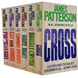 Alex Cross Series Collection James Patterson 6 Books Set (Cross, Double Cross, Mary, Mary, London Bridges, Cat and Mouse, Pop Goes the Weasel)
