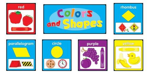 Board Shapes Set Bulletin (Carson Dellosa Colors and Shapes Bulletin Board Set (119017))