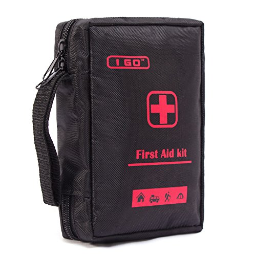 I-Go-A1FA02-Expedition-First-Aid-Kit-Emergency-Survival-Bag-Best-for-Hiking-Backpacking-Camping-Travel-Car-Cycling-Outdoors-or-Sports-Small-Compact