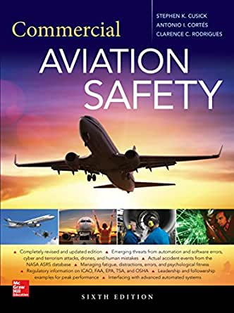 Commercial Aviation Safety, Sixth Edition, Stephen K  Cusick