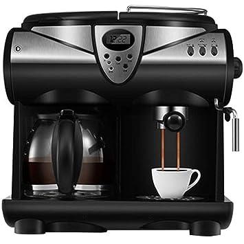 Máquina de café automática por goteo 1.5l caldera de vidrio 1580 vatios-negro: Amazon.es: Hogar