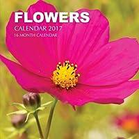 Flowers Calendar 2017: 16 Month Calendar