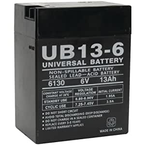 Universal Power Group 85934 Sealed Lead Acid Battery by Petra Industries