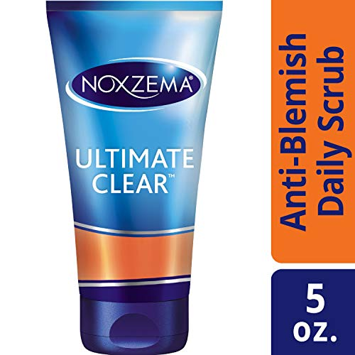Noxzema Ultimate Clear Anti-Blemish Daily Deep Pore Face Scrub 5 oz, 2 Count